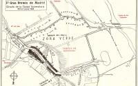 El I Gran Premio Automovilista de Madrid de 1949 se desarrolló en el Circuito de la Ciudad Universitaria. Aquel circuito improvisado tenía una longitud de 3.350 metros y estaba trazado en torno a los campos de deportes, facultades de la Ciudad Universitaria, Puente de los Franceses, Parque del Oeste y Plaza de la Moncloa de Madrid.