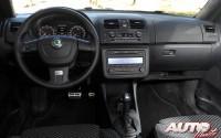 Skoda Fabia RS 1.4 TSI DSG – Interiores