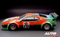 BMW Art Car Collection – 1979 BMW M1 Grupo 4