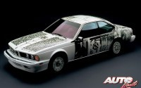 BMW Art Car Collection – 1986 BMW 635 CSi