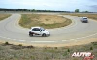 """La pista de """"handling"""" del INTA en Madrid será uno de los escenarios utilizados para los cursos del Rally Center by Abarth."""