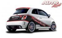 Los Abarth 500 del Rally Center tienen 135 CV y cuentan con cubrecárter, barras antivuelco y cinturones de seguridad de arnés.