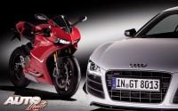 Audi se pone a dos ruedas con Ducati