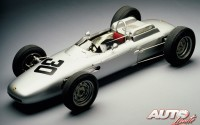 Ferdinand Alexander Porsche diseño en los años 60 coches de competición, como el Fórmula 1 Type 804.
