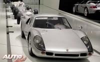 El Porsche 904 Carrera GTS de 1964 expuesto en el Museo Porsche.