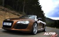 Audi R8 Spyder 4.2 FSI quattro R tronic – Dinámicas