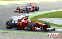 Alonso por tercera vez. GP de Alemania 2012