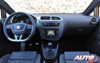 Seat León Cupra R 2.0 TSI – Interiores
