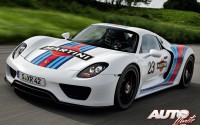 "Porsche 918 Spyder ""Martini Racing"""