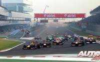 """""""Ahora competimos contra Newey"""". GP de India 2012"""