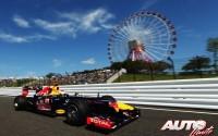 Terremoto Vettel. GP de Japón 2012