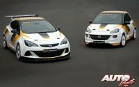 Opel vuelve a las carreras en rallyes y circuitos