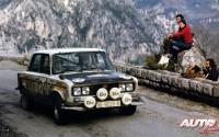 Salvador Serviá finalizó en séptima posición en el Rallye de Montecarlo de 1977, al volante de un SEAT 1430/1800 privado.