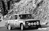 Ricardo Muñoz fue uno de los pilotos españoles que participó en el Rallye de Montecarlo de 1977, mostrando en su coche la publicidad del Pub Seis Peniques.