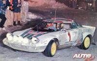 Sandro Munari ganó por segunda vez consecutiva el Rallye de Montecarlo en la edición de 1977. El tándem Munari-Lancia Stratos HF parecía entonces imbatible.