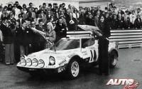 La pareja femenina formada por Christine Dacremont y su copiloto Galli llevaron su Lancia Stratos HF Grupo 4 hasta la sexta posición final en el Rallye de Montecarlo de 1977.