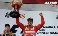Fernando, ¡¡no empujes!! GP de China 2013
