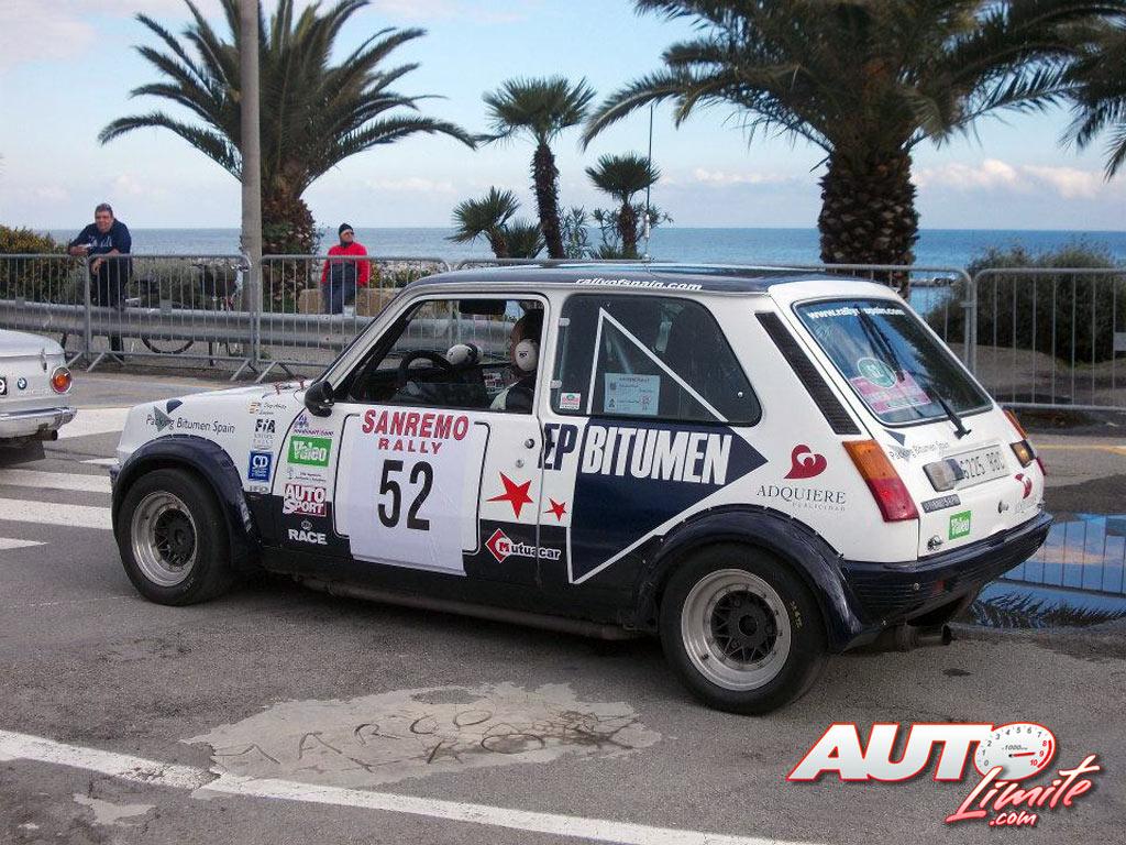 Miguel Díaz-Aboitiz y Diego Sanjuán no pudieron disputar ningún tramo del Rally Sanremo Histórico 2013 por problemas mecánicos en su Renault 5 Alpine.