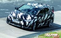"""El nuevo Honda Civic Type R se pasa al """"turbo"""""""