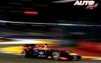 Estratosférico Vettel. GP de Singapur 2013