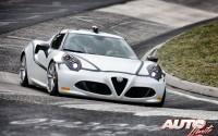 Alfa Romeo 4C en tiempo de récord sobre Nürburgring