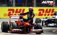 Los Fórmula 1 no transportan pasajeros