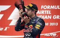 El cuarto título de Vettel. GP de India 2013