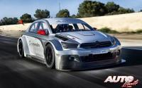 Pruebas a tope con el nuevo Citroën C-Elysée WTCC