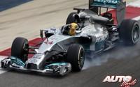 ¡Mercedes über alles! Entrenamientos de Bahréin 2014
