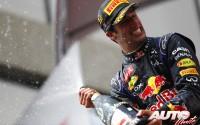 Ricciardo, una sonrisa en la batalla. GP Canadá 2014