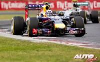 Ricciardo contra los gladiadores. GP de Hungría 2014
