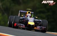 Daniel Ricciardo por tercera vez. GP de Bélgica 2014