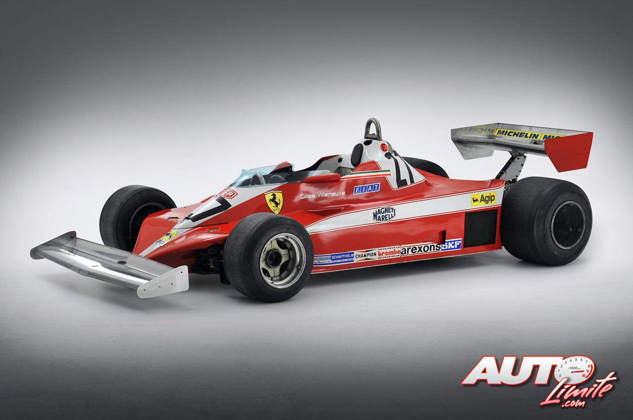 Ferrari 312 T3 F1 1978 Gilles Villeneuve