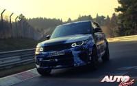 Land Rover Range Rover Sport SVR – Pruebas de desarrollo