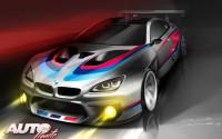 El nuevo BMW M6 GT3 llegará a los circuitos en 2016