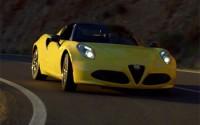 Alfa Romeo 4C Spider – Exterior