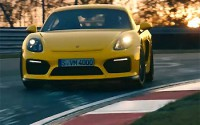 Porsche Cayman GT4 – Dinámico