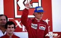 Niki Lauda hacia la conquista de su tercer título