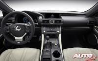 Lexus RC F 2015 – Interiores
