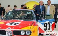 Hervé Poulain (izquierda) y Jochen Neerpasch (derecha) fueron los dos impulsores principales de la Colección BMW Art Car en 1975.