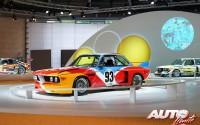 BMW 3.0 CSL Grupo 4 pintado por el artista Alexander Calder en 1975.