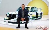 Jochen Neerpasch, antiguo Director de BMW Motorsport, fue uno de los principales impulsores de la creación de la Colección BMW Art Car en 1975.