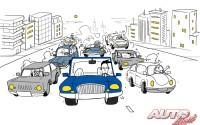 Las siete personalidades al volante… y alguna más