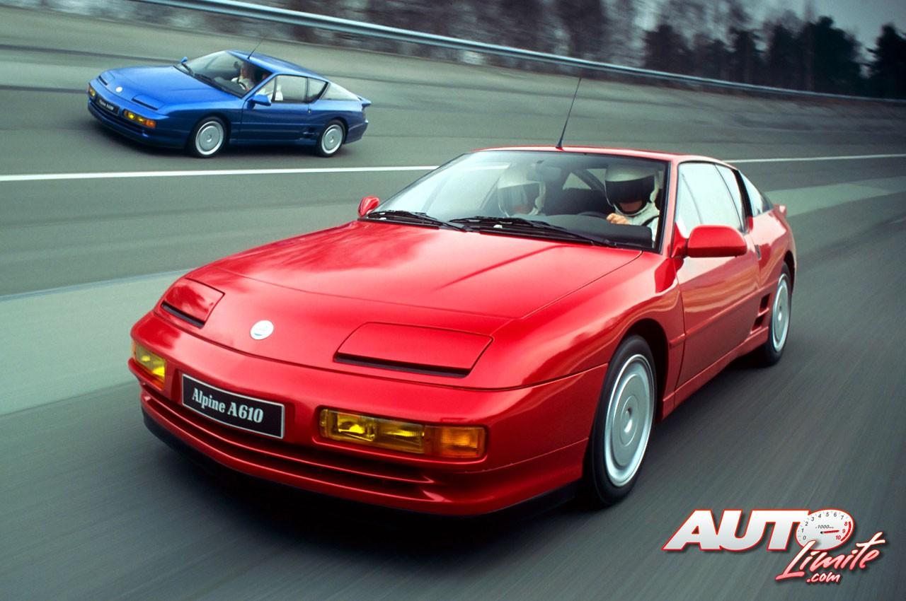 renault alpine a610 v6 turbo 1991 1995. Black Bedroom Furniture Sets. Home Design Ideas