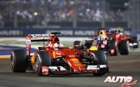 El honor y la suerte. GP de Singapur 2015