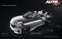 Peugeot Fractal Concept – Técnicas