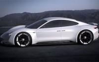 Porsche Mission E Concept Study – Exterior