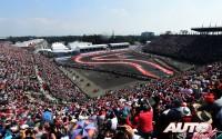 Espectáculo en el volcán. GP de México 2015