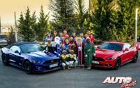 Los Reyes Magos van en Ford Mustang