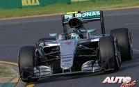 Nico Rosberg golpea primero. GP de Australia 2016